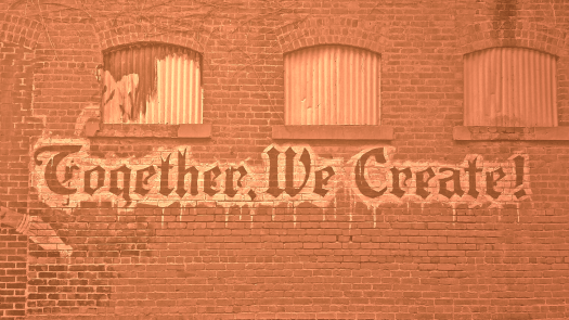 Together we create Orange